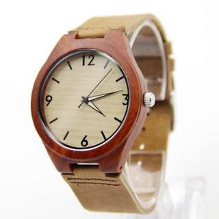 Wooden Watch - Red Sandalwood