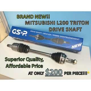Mitsubishi L200 Triton Drive Shaft