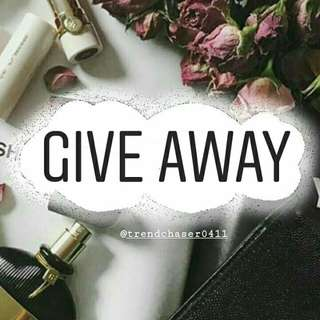 Give Away on Instagram