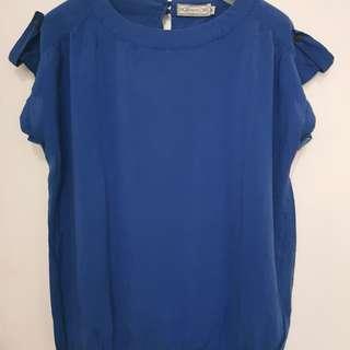 Blue Calypso Top