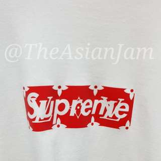 Supreme X LV Tee White