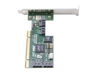 PROMISE SATA300 TX4 PCI SATA II (3.0Gb/s) 4-Port Adapter