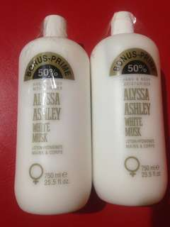 Alyssa Ashley Lotion
