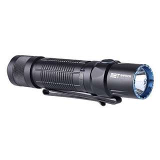 Olight M2T Warrior XHP35 HD 1,200 Lumens USB Rechargeable Tactical Flashlight (Silent Tail Switch)