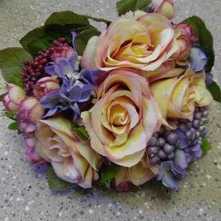 結婚花球+花車絲帶