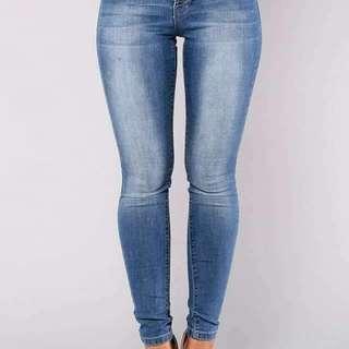 Plus size 4botton jeans