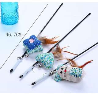 CAT TOYS FISHING ROD SQUARE CUSHION
