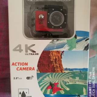 GOQ V3 SJ9000 Wifi 4K 30fps Action Sports Camera Waterproof Camcorder with Accessories (Red)