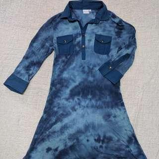 Elle tunic top / dress size M