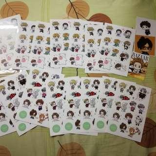 Exo Sticker luhan luhoney fanart sticker sets