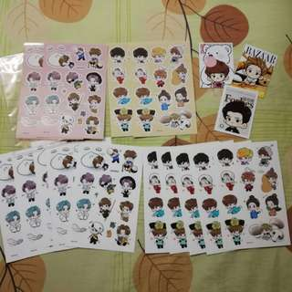Exo Stickers luhan luhoney fanart sticker sets