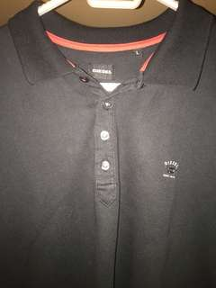 Diesel polo shirt size large
