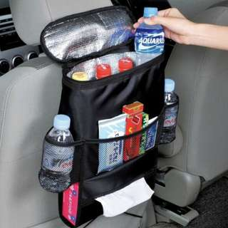 Car Seat Bag Multi-Purpose Holder Storage With Warm/Cold Insulation