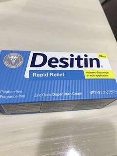 Desitin Diaper Rash Cream (BNIB)