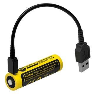 Nitecore NL1475R USB Rechargeable 750mAh 14500 Battery