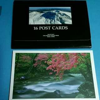 韓國風景postcard 一套十六張 HK 60 元