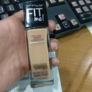 Fit Me Foundation Maybelline - Normal to Dry
