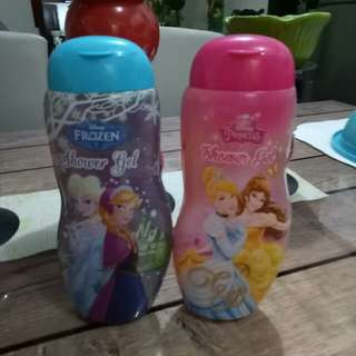 Frozen and disney shower gel