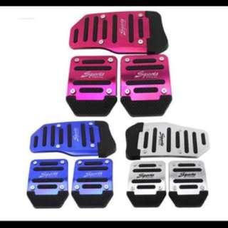 Customizable Car Pedals! Non slip! Stylish!