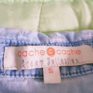 Cache cache open side dress