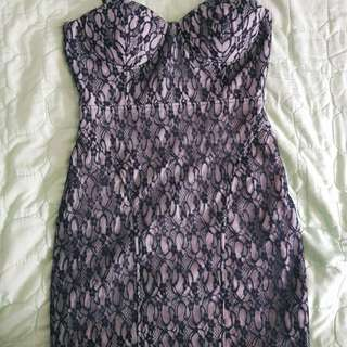 Forever 21 lace bustier dress