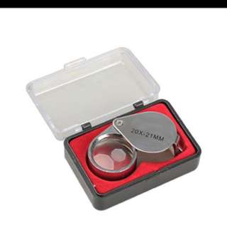 Multipurpose Magnifying Glass! Jewelry Loupe!