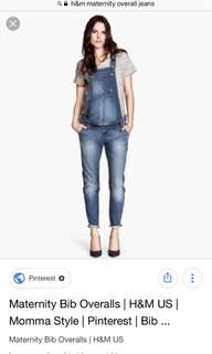 Clearance sale! Maternity romper jeans