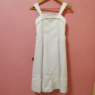 Long White Dinner Dress