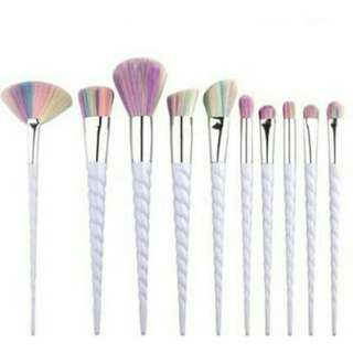 Brush Unicorn isi 10set brush