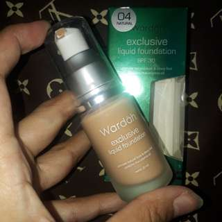 Wardah Exclusive Liquid Fondation
