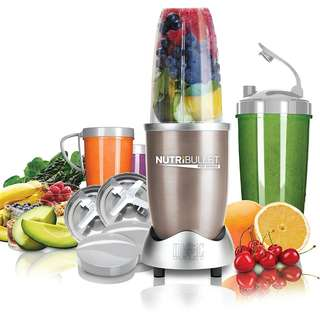 Nutribullet Pro 900w 15 Piece Set with Recipe, Singapore Local Plug and Voltage