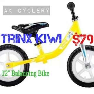 "Balance Bike 12"" TRINX Kiwi"