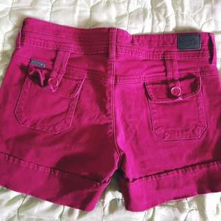 BNY red shorts