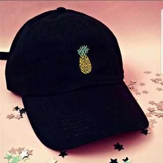 [PO] Korean Ulzzang Pineapple Baseball Cap