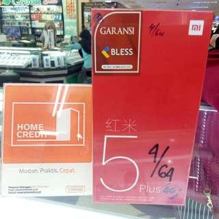 Xiaomi Redmi 5 Plus Bisa Kredit Cepat Tanpa Ribet