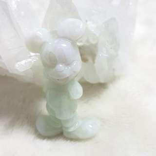 ⭐Pendant GradeA Myanmar Jade (Mickey Mouse)