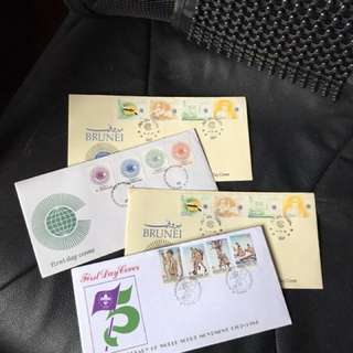 1st Day covers