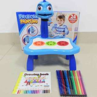 Kids Projector Drawing Painting Set