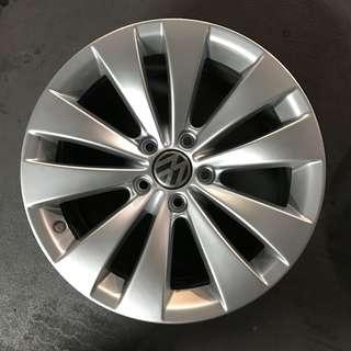 "Used 17"" Original Volkswagen Rims"