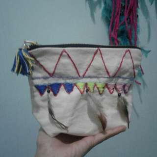 Pouch hand made