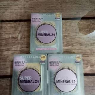 Maybelibe super mineral 24 powder