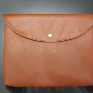 "Leather Laptop Case/File Case (13"" for laptops)"