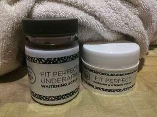 Skin Genie Pit Perfect Scrub & Cream