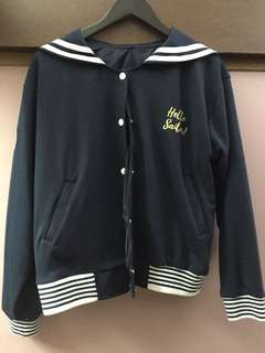 Sailor varsity jacket