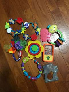 Assorted Teether Toys