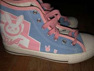 Overwatch D.Va shoes