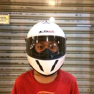 LS2 Helmet Fullface White