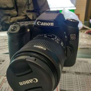kredit Canon EOS 70DL 18-55mm STM WIFI