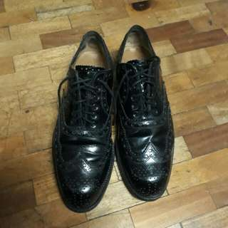 Cole Haan Black Oxford Shoes