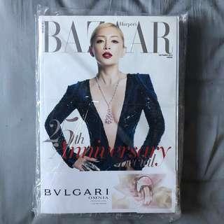 Harper's Bazaar Hong Kong 25th anniversary special issue Ayumi Hamasaki 滨崎步